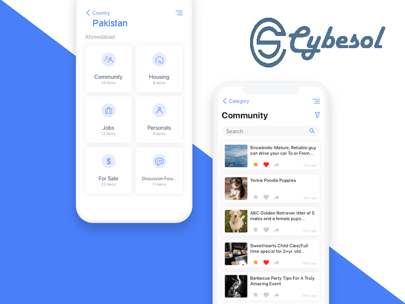 Cybesol Android Apps
